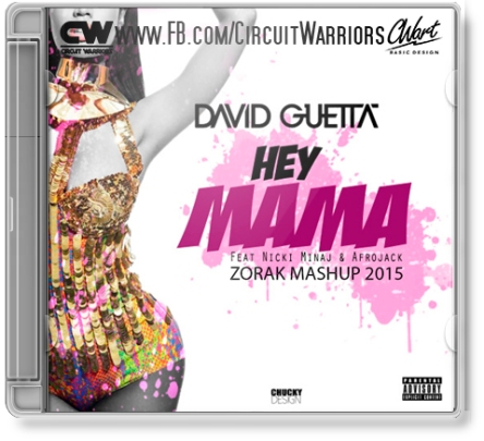 David Guetta_Nicki Minaj_Afrojack_Hey mama_Portada